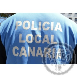 Polo POLICIA LOCAL CANARIA manga corta